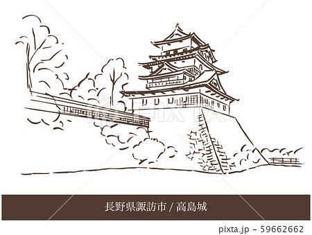 長野県諏訪市/高島城 59662662