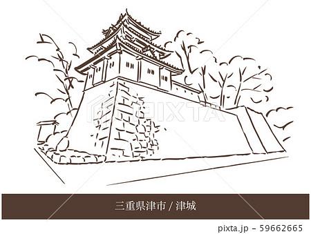 三重県津市/津城 59662665