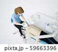 歯医者と患者 59663396