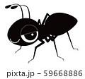 蟻 キャラクター ベクター イラスト 59668886
