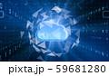 VR 5G AI 人工知能 フィンテック Fintech MaaS ICT ブロックチェーン 3D 59681280