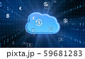 VR 5G AI 人工知能 フィンテック Fintech MaaS ICT ブロックチェーン 3D 59681283