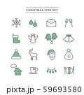 CHRISTMAS ICON SET 59693580