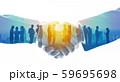 ビジネスグループ チームワーク 59695698