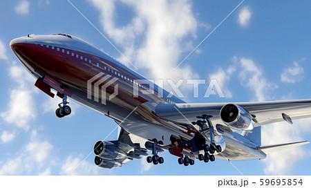 飛行中の飛行機 59695854