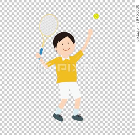 テニス男性2 59701039