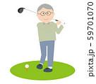 シニアゴルフ 男性 59701070