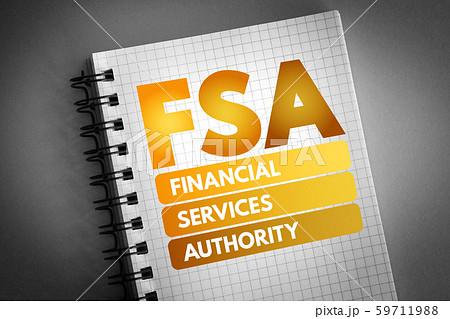 FSA - Financial Services Authority acronym 59711988