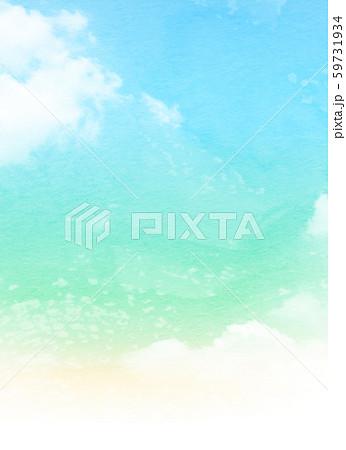 背景素材 空 虹色 テクスチャー 59731934