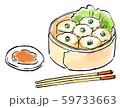 中華料理 食べ物 イラスト 59733663