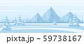 Winter Landscape Background 59738167