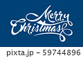 White text Marry Christmas 59744896