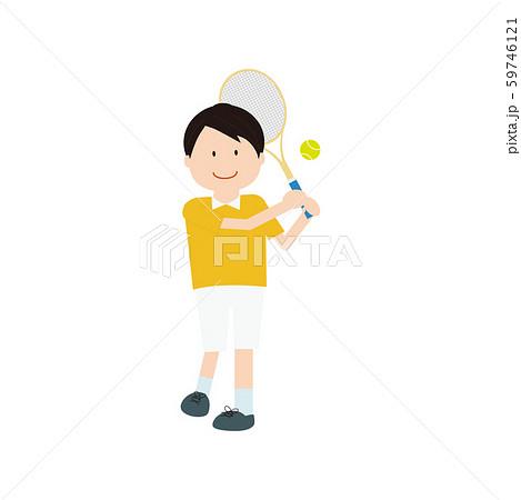 テニス男性3 59746121