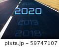 2020 新しい挑戦のイメージ 59747107