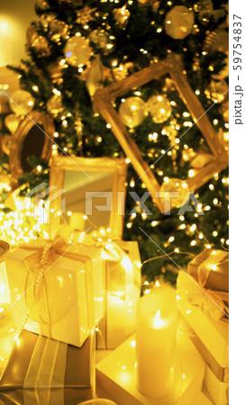 クリスマスツリー イルミネーション 59754837