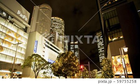 名古屋駅前のイルミネーション 59755258