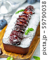 Delicious homemade plum cake. 59790038