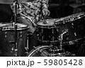 ジャズライブ ドラムプレイ 59805428