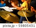 ジャズライブ ドラムプレイ 59805431