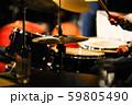 ジャズライブ ドラムプレイ 59805490