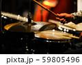 ジャズライブ ドラムプレイ 59805496