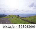 知夫里島の赤ハゲ山付近からの眺め(島根県隠岐郡知夫村) 59808900