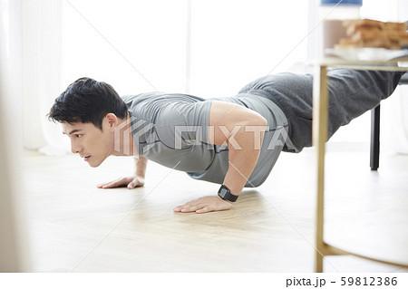 男性 ライフスタイル トレーニング 59812386