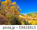 《長野県》紅葉の乗鞍岳・自然風景 59828815