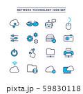 NETWORK TECHNOLOGY ICON SET 59830118