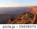 夕方のグランドキャニオン アメリカ アリゾナ 59836074
