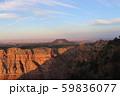 夕方のグランドキャニオン アメリカ アリゾナ 59836077