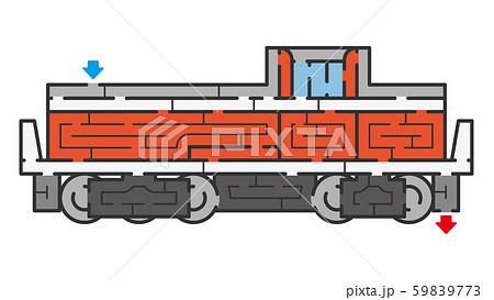 機関車の迷路 59839773