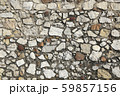 Very old stone wall texture 59857156