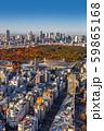 東京新宿の風景Scenery of Japan in Tokyo Shinjuku  59865168