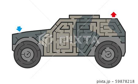 装甲車の迷路 59878218