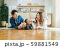 家族 親子 家庭 家 ポートレート 59881549