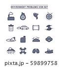 ENVIRONMENT PROBLEMS ICON SET 59899758