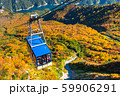 《富山県》紅葉の黒部平・立山黒部アルペンルート 59906291
