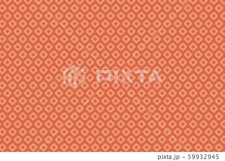 赤色の和柄鹿の子絞りの壁紙 59932945