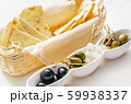 pita chips with olives 59938337