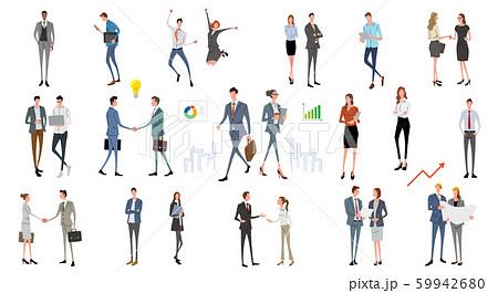 イラスト素材:人々、ビジネスシーン、ファッション 59942680