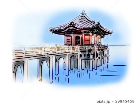 滋賀県大津市/満月寺浮御堂 59945459