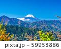 東京 高尾山 山頂からの富士山 59953886