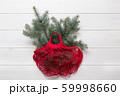 Christmas zero waste holiday. Coniferous fir tree 59998660
