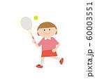 テニス女の子1 60003551
