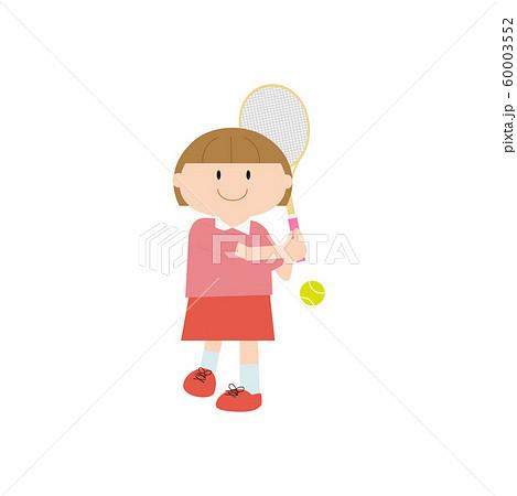 テニス女の子2 60003552