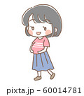 妊婦さんのイラスト1 60014781