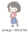 妊婦さんのイラスト2 60014782