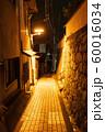 夜の尾道の路地 60016034