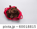 Christmas zero waste holiday. Natural cones 60018815
